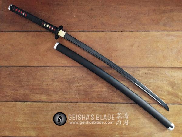 Tanjiro Kamado Nichirin Blade Hand Forged 02