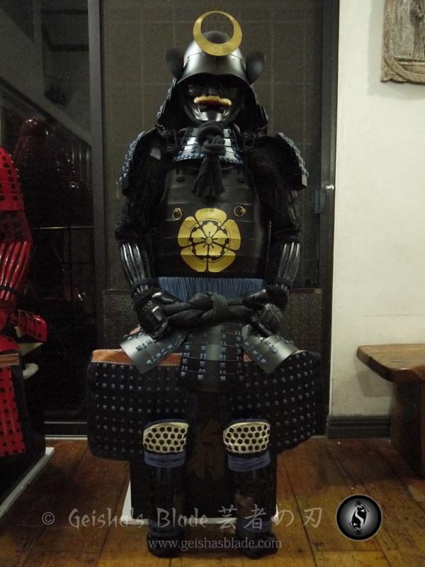 Oda Nobunaga Clan Samurai Armor Yoroi Geisha S Blade