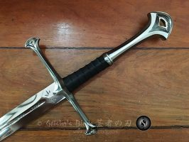 LOTR Anduril scabbard 05