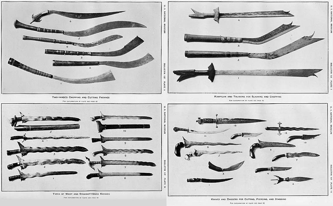 Filipiniana swords