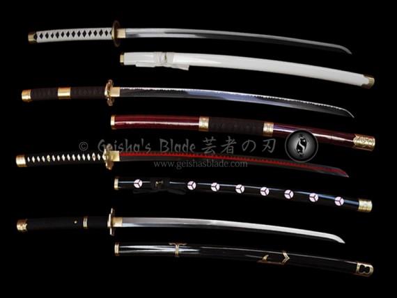 One Piece: Roronoa Zoro's Sword Set (Forged)