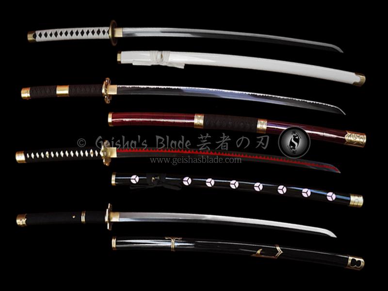 One Piece Roronoa Zoros Sword Set Forged 2