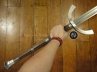 Two-Handed Danish War Sword 12