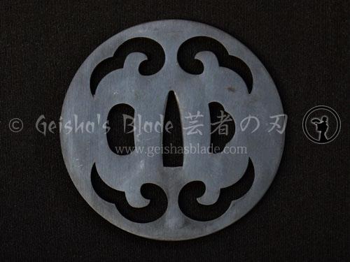 Kamikaze (Divine Wind) Iron Tsuba
