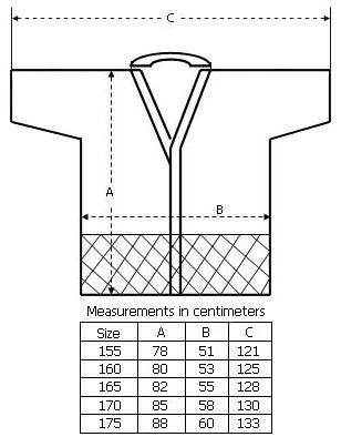 Size Chart - Keikogi