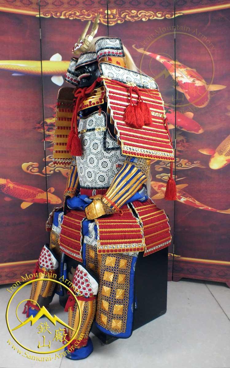 Daimyo Takeda Shingen Samurai Armor Geisha S Blade
