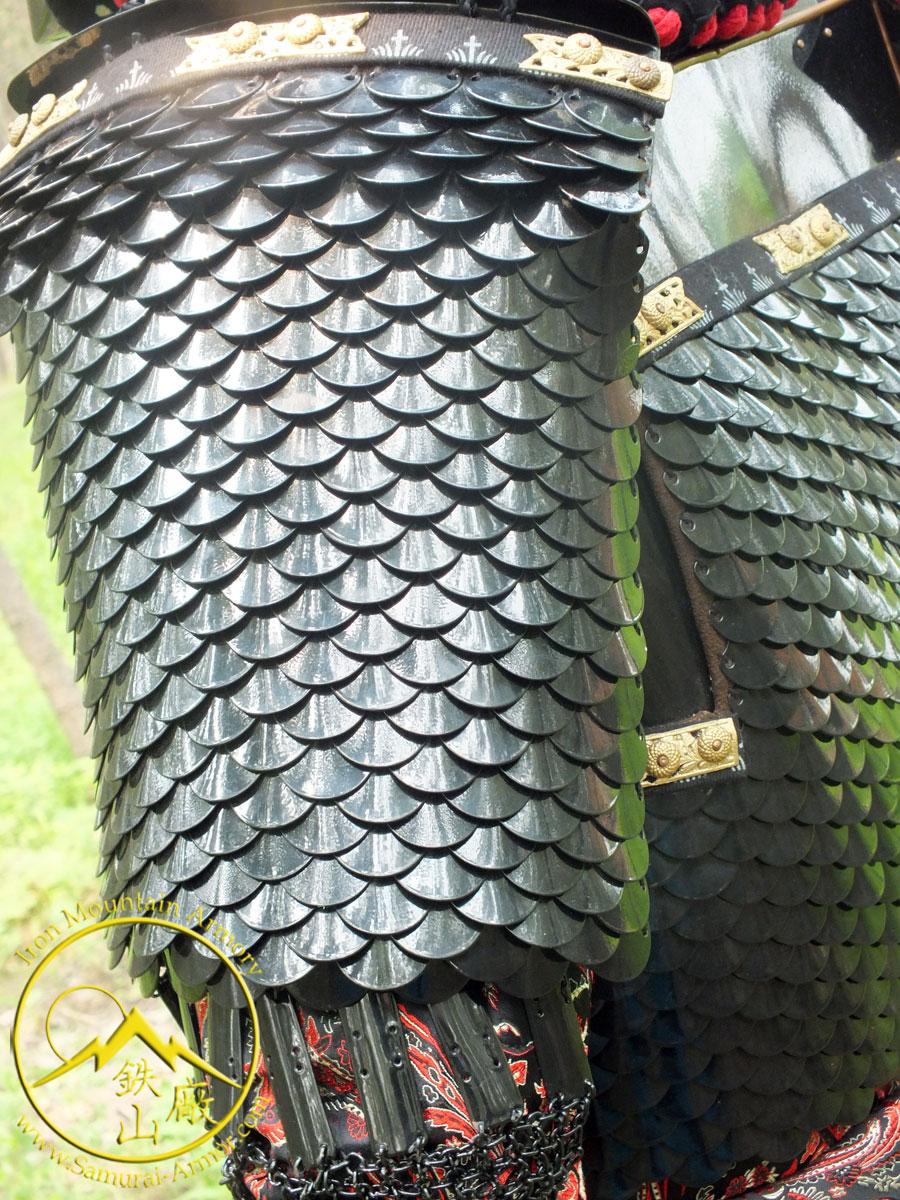 Dragon Scale Samurai Armor Yoroi Geisha S Blade