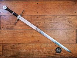 Witcher Steel Sword 04