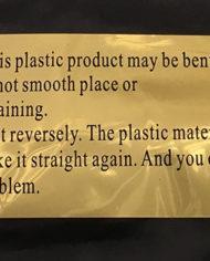 polypropylene notice
