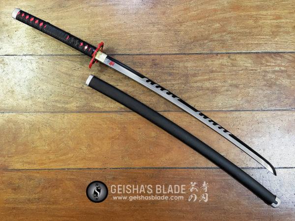 Tanjiro x Rengoku Nichirin Blade Hand Forged 02